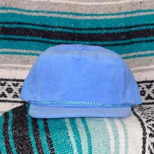 Baby Blue Corduroy Hat Trucker Hat